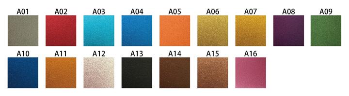 ベルハウジングカラー 全16色(アルマイト)