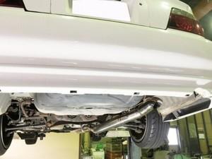 EXAS Racing Exhaust JZX100 サブ付き
