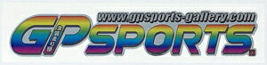 GP SPORTSロゴステッカー 【 Cタイプ 】全3色まなPコラボ