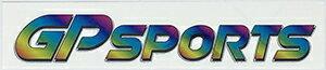 GP SPORTSロゴステッカー 【 Bタイプ 】全4色