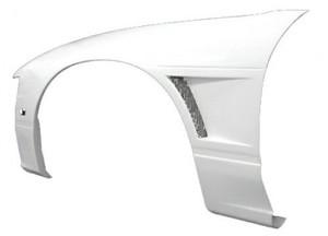 S13 180SX フロントフェンダー IMPACT-EX 片側20mmワイド エアダクト搭載